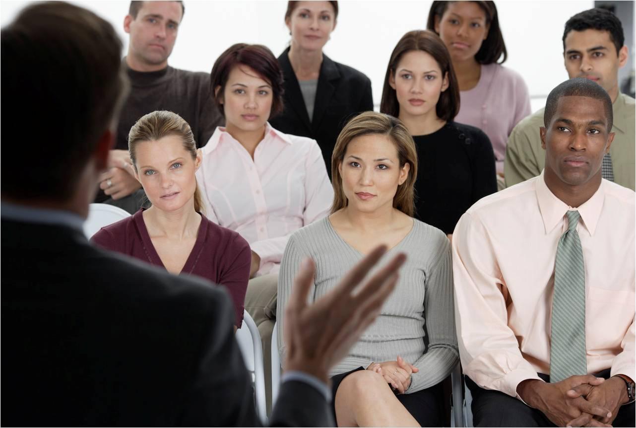 Presentation-audience